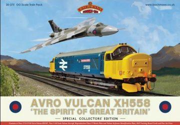 Avro Vulcan XH558 Train Pack