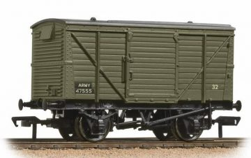12 Ton Van ARMY Green