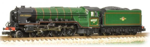 Class A2 60527 'Sun Chariot' BR Lined Green Late Crest