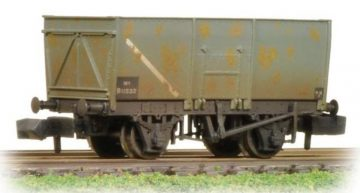 16 Ton Slope Sided Steel Mineral Wagon