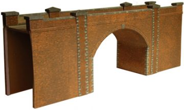 Red Brick Bridge or Tunnel Entrance