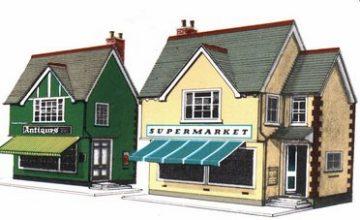 Supermarket and Shop