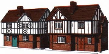 Two Elizabethen Cottages
