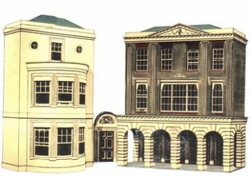 Regency Period Shops and House