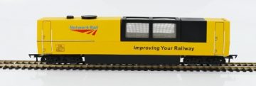 Network Rail Track Cleaning Vehicle