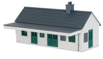 Wooden Station Building