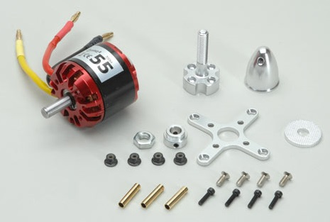 Quantum II 55 Brushless Motor