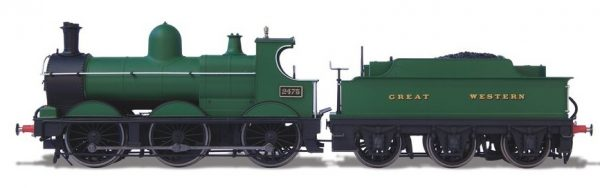 Dean Goods 2475 Plain GWR DCC sound fitted