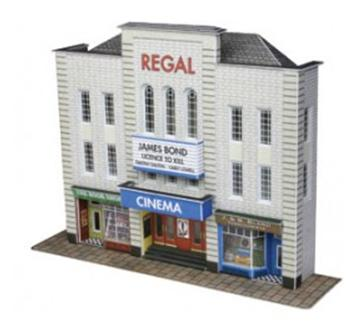 Low Relief Cinema and Two Shops