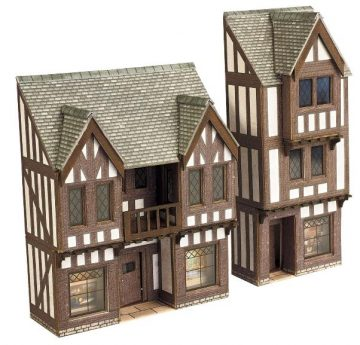 Low Relief Timber Framed Shop