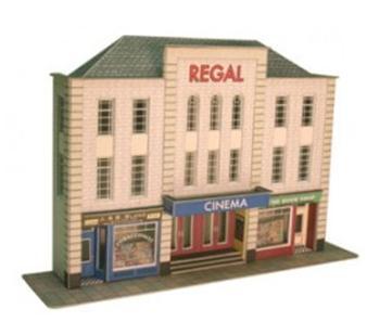 Low Relief Cinema & Shops