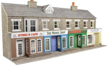 Low Relief Stone Shop Fronts