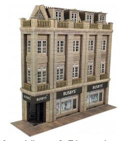 Low Relief Department Store