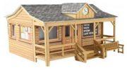 OO/HO Wooden Pavilion