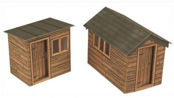 Scale Garden Sheds