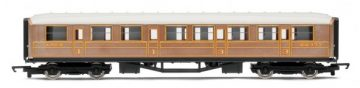 RailRoad LNER Teak Composite Coach