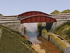 Bow Plate Girder Bridge