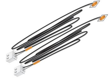 Orange Stick-on LED Lights